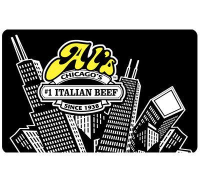 Al's Beef Gift Card - $25 $50 or $100 - Email delivery