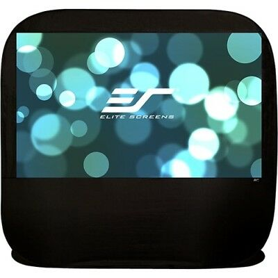NEW Elitescreens POP92H Pop-up Cinema Projection Screen 92in Diag PopUp Outdr