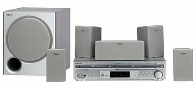 Sony HT-V600DP DVD-VCR Home Theater System Refurbised By Sony