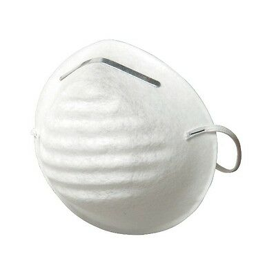 Dust and Particle Mask 5 Pack Safety Disposable Protective Respiration Filter