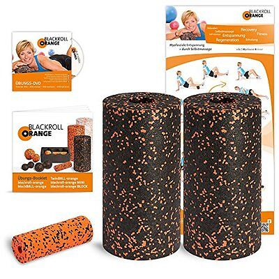 Blackroll Orange (L'originale) - Il rullo per automassaggio - Twin-Set (G7b)
