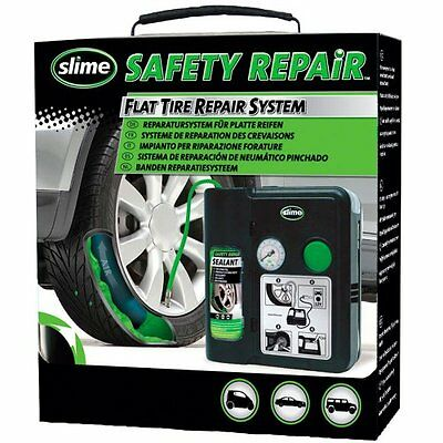 Slime 113.50053 Safety Repair - Kit Riparazione Forature (L7Y)