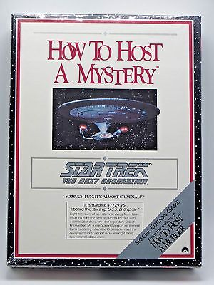 Star Trek How To Host A Mystery Special Edition 1992 Game Next Generation Sealed