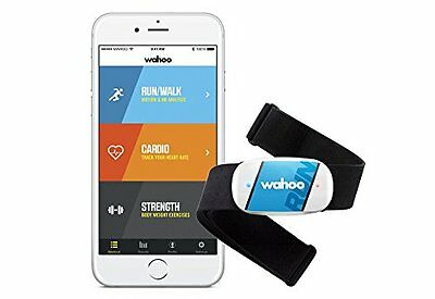 WahooFitness TICKR RUN - activity trackers (Clip-on, Wireless, Blue, (a1K)