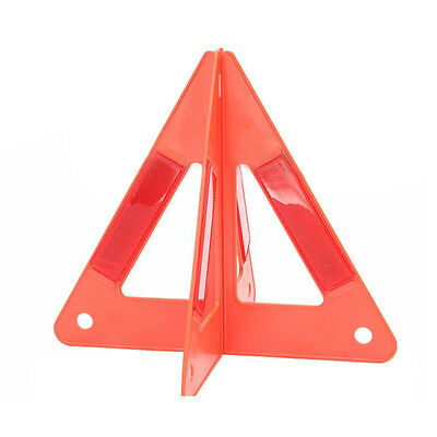 Car Emergency Breakdown Warning Triple-cornered Sign Red Reflective Safety H6M3