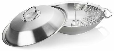 Fissler Original profi collection 8482335000 Wok con coperchio in metallo (n8o)