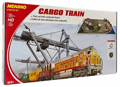 Mehano T113 Cargo train with layout – Set Trenino Elettrico in Scala H0 (k5M)