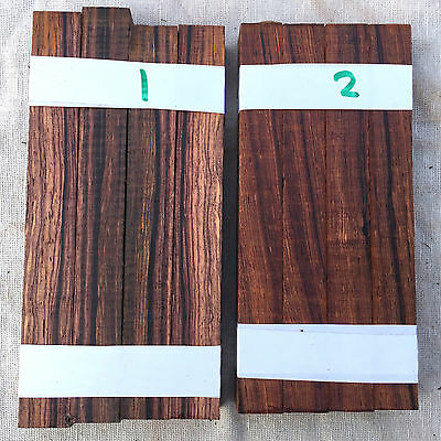 Cocobolo rosewood pen blank / small turning blank 150mm lengths SETS OF 4