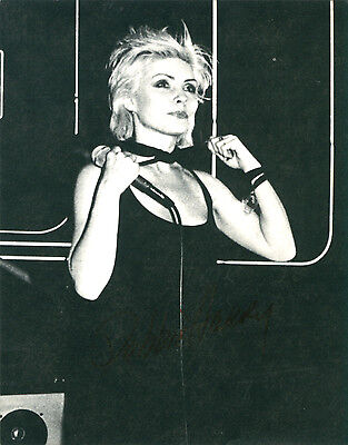 Lot of 5 - Blondie - Debbie Harry Original 1979 Official Fan Club Postcards