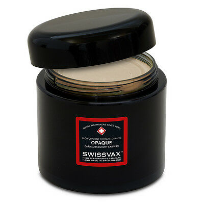 SWIZÖL SWISSVAX Opaque Premium wax for all Matt coatings,50 ml 110,00€/100ml