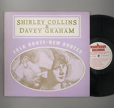 "Shirley Collins & Davey Graham - Folk Roots New Routes - EX+ - 12"" Vinyl"