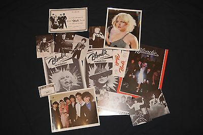 Sampler Lot 1979 Official Blondie Fan Club Debbie Harry 17 items Deborah