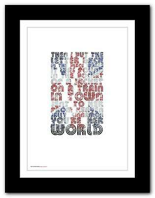 THE STONE ROSES ❤ Sally Cinnamon ❤ poster limited edition print in 5 sizes #14