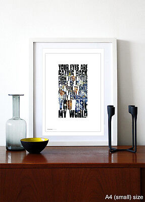 THE STONE ROSES ❤ Sally Cinnamon ❤ poster limited edition print in 5 sizes #15