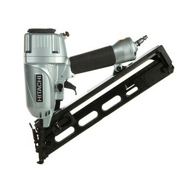 Hitachi 15-Gauge 2-1/2 in. Angled Finish Nailer Kit NT65MA4R Recon