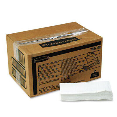"Rubbermaid 12-1/2"" x 17"" 2-Ply Liquid Barrier Liners (320-Count) 781788WE NEW"