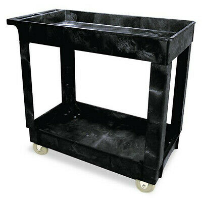 Rubbermaid 300 lb. Capacity Service Utility Cart (Black) 9T6600BLA NEW