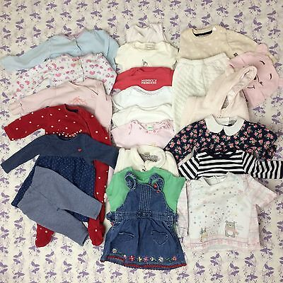 HUGE BABY GIRL CLOTHES BUNDLE 3-6 MONTHS 23 Items Little White Company NEXT More