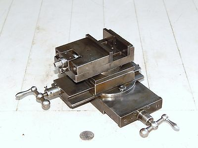 Van Norman Lathe Compound Slide With Vise For Horizontal Milling Attachment