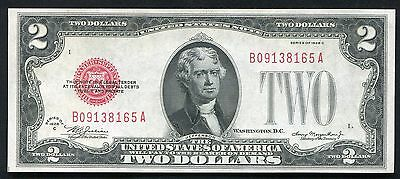 Fr. 1504 1928-C $2 Two Dollars Legal Tender United States Note Gem Unc