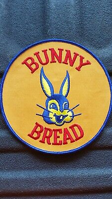 Bunny Bread Delivery Person Large Jacket Uniform Patch Advertising