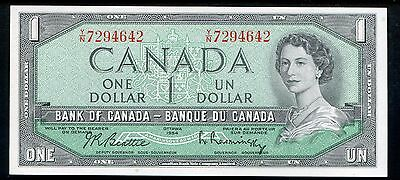 BC-37b 1954 $1 ONE DOLLAR BANK OF CANADA BANK NOTE GEM UNCIRCULATED
