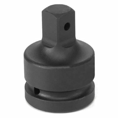 """Grey Pneumatic 1"""" Dr Female x 3/4"""" Male Adapter w/ Pin Hole 4008A new"""