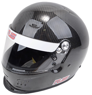 Rjs Racing Equipment New Snell Sa2015 Carbon Fiber Racing Helmet Large