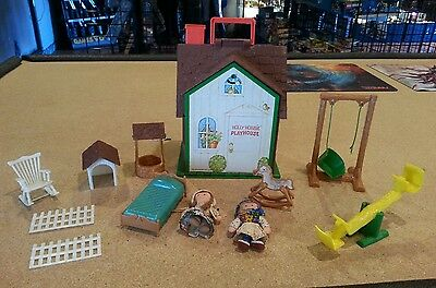 Vintage Holly Hobbie 1976 American Greetings Playhouse Accessories & Clothes