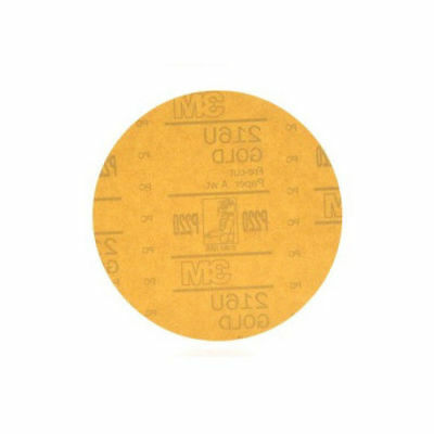 3M Hookit Gold Disc, 6 in., P220A (50-Pack) 978 new