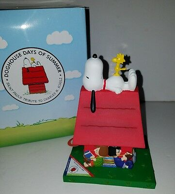 NEW Westland Doghouse Days Of Summer Figurine Peanuts Snoopy The Gang's All Here