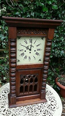 Old Charm Furniture Wall Clock with Westminster Chimes