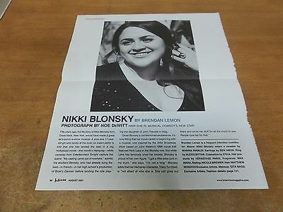 Nikki Blonsky  clipping #816