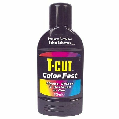 T-Cut Detergente Color Fast 500 ml, colore: Nero (M1j)