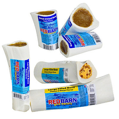 "Redbarn Filled Bone Assorted Flavor n Sizes from 3"" to 6"" (Free Shipping in USA)"