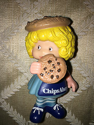 Nabisco Chips Ahoy Cookie Girl Vintage Advertising Doll Figure Classic PVC