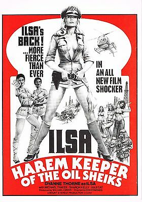 Ilsa Harem Keeper (Dyanne Thorne) - Original Theatrical Press Book - Canada