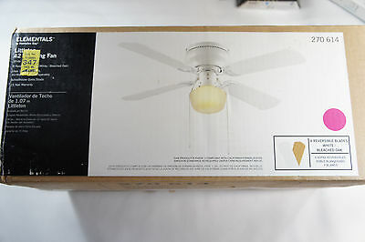 Smc Ceiling Fan 42 Decorative Ceiling Fan White Finish