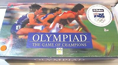 Vintage Olympiad The Game Of Champions 1993