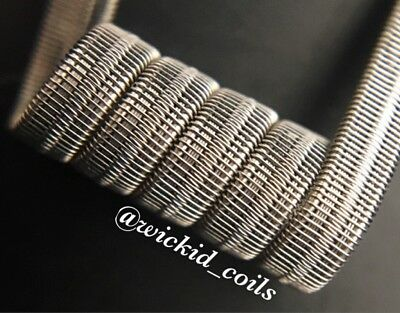 2 KPN80 Lopsided 10 Ply Split Staggerton Coils + Free Coils (Alien, Staple