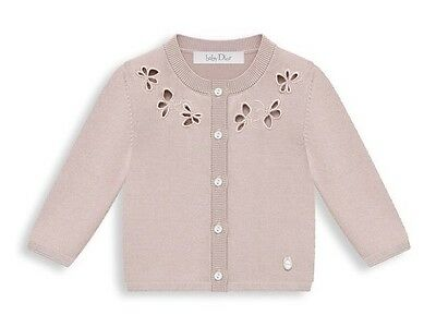 Christian Dior Baby Tricot Knit Cardigan 2 Years