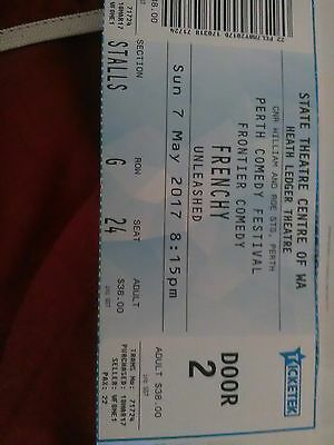 Frenchy Ticket Perth