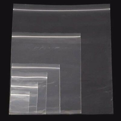 Heavy Duty Grip seal Clear plastic bag 75 Microns 300 Gauge Very Strong Cheaper