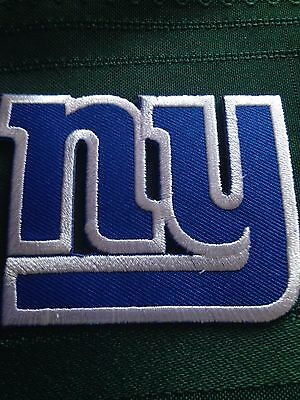 NY Giants NFL Jersey Patch Met Life Iron On Sew On Shirt Jacket Bag Hat  Scarf 8ffdaf1bc