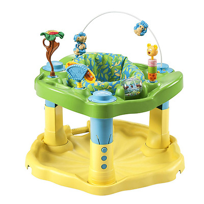 Evenflo Exersaucer Bounce & Learn, Zoo Friends Baby Motor Fun Learning Toys New