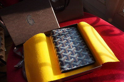 GOYARD - Passport holder - Navy blue marine [NEW]