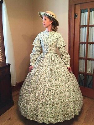 1861 Worn by Laura Linney in Class of '61.  .35 bust 26 waist 42 length