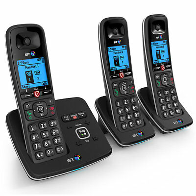 Used BT 6610 Trio Digital Cordless Phone With Nuisance Call Blocking & Answering