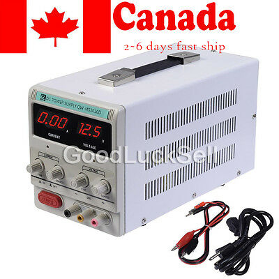 Adjustable DC Power Supply Precision Variable Digital Lab 0-10A 0-30V In Canada!