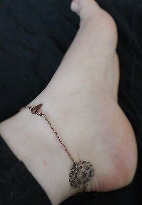 "Bracelet de cheville ""Copper Spike"""